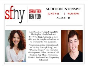 SFNY Audition Intensive Teachers